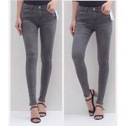 Quần jeans xám khói
