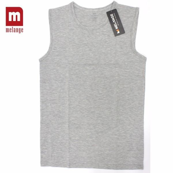 Áo sát nách cotton Melange MC.43.01 1