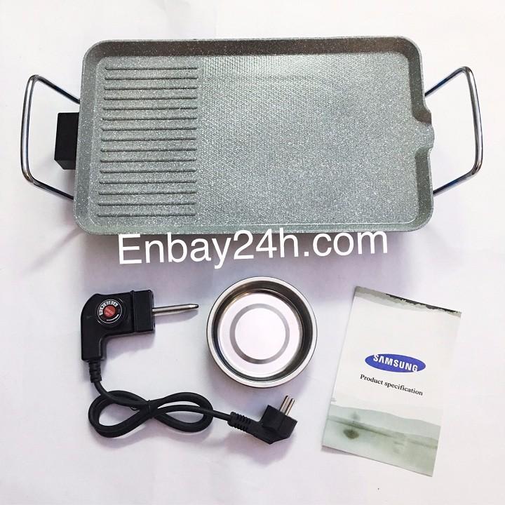 Bếp nướng điện không khói vân đá DH-SS01 3