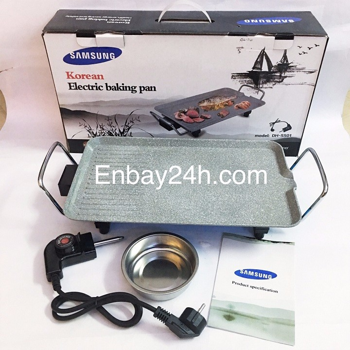 Bếp nướng điện không khói vân đá DH-SS01 1