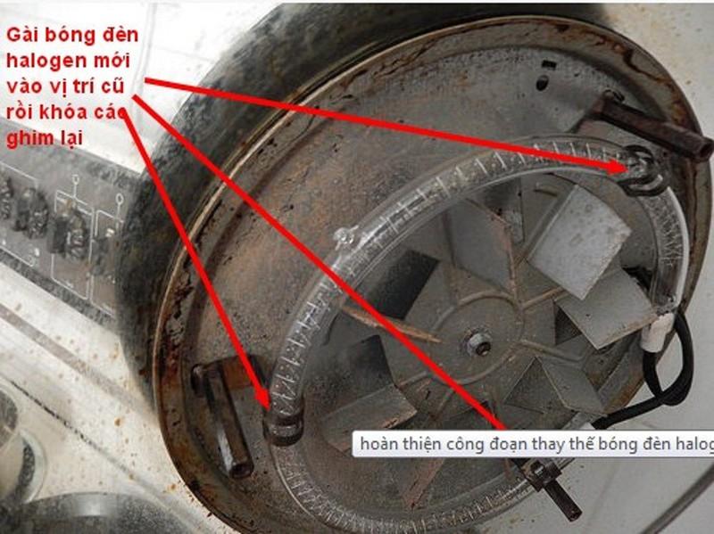 Bóng đèn halogen lò nướng thủy tinh 1300 W 13