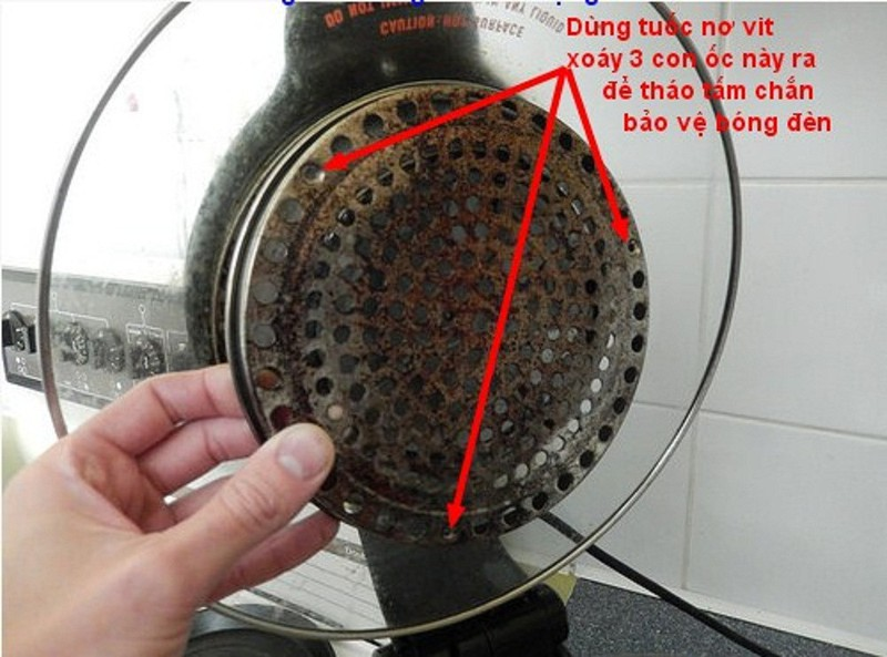 Bóng đèn halogen lò nướng thủy tinh 1300 W 7