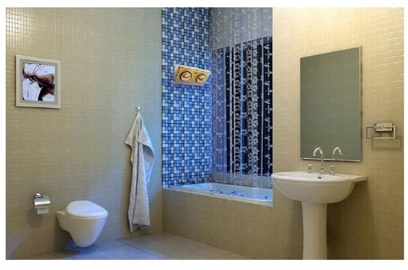 Đèn sưởi nhà tắm Kottmanns 2 bóng cao cấp-0965.011.567 11