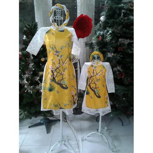 Set áo dài cách tân cho mẹ và bé - 10530804 , 8163659 , 15_8163659 , 900000 , Set-ao-dai-cach-tan-cho-me-va-be-15_8163659 , sendo.vn , Set áo dài cách tân cho mẹ và bé