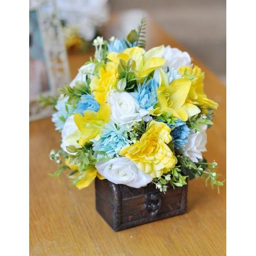 Hoa cầm tay cô dâu BF0148YL01
