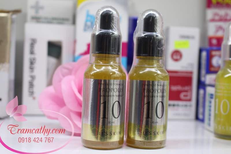Tinh chất dưỡng ẩm se khít lỗ chân lông It Skin propolis 6