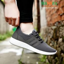 Giày Sneaker Nam- Thể Thao Nam Phong Cách Hàn Quốc 2018