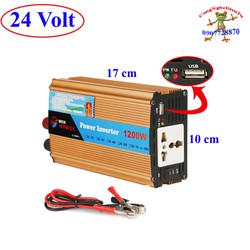 Đổi điện 1200 W  inverter 24V sang 220V