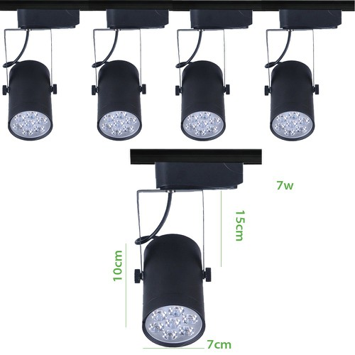 Bộ 5 đèn led rọi thanh ray 7w vỏ đen ánh sáng trắng - 4968906 , 8180744 , 15_8180744 , 530000 , Bo-5-den-led-roi-thanh-ray-7w-vo-den-anh-sang-trang-15_8180744 , sendo.vn , Bộ 5 đèn led rọi thanh ray 7w vỏ đen ánh sáng trắng