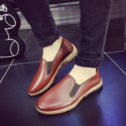 Giày Da Nam Kiểu Dáng Thời Trang Hàn Quốc