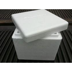 Thùng xốp tặng đá khô bán kèm hàng lạnh của shop