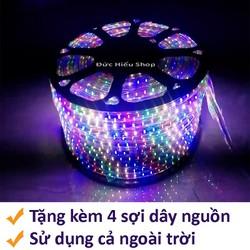 Đèn LED dây 5050 RGB cuộn 100m