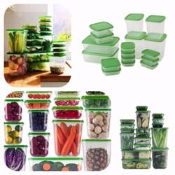 bộ hộp nhựa đựng thức ăn 17 món tiện dụng hàng cao cấp
