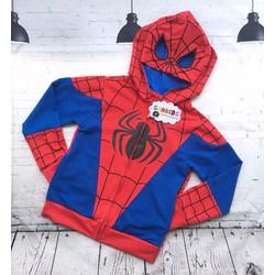 Áo khoác siêu nhân nhện cho bé trai cực sành điệu