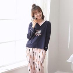Bộ mặc nhà nữ chất cotton - giá 590k -NG221