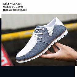 Giày vải nam - Mẫu mới - Sang trọng - Lịch Lãm
