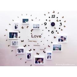 Bộ khung ảnh treo tường hình trái tim - Khung ảnh phòng cưới