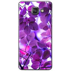 Ốp lưng Samsung A3 2016 Lá màu tím