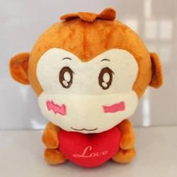 Thú nhồi bông khỉ con YOYO TNB119 cao 23 cm bởi WinWinShop88