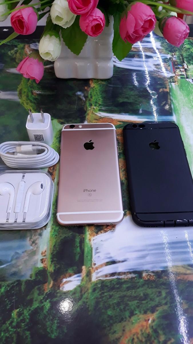 Iphone 6S Hồng 16Gb Quốc Tế - Tặng Ốp Lưng + Dán Cường Lực 1