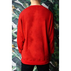 Áo Sweater Unisex Fox_Red