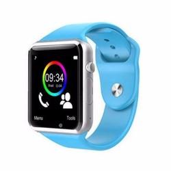 Điện Thoại Đồng hồ thông minh đa chức năng smartwatch A1 Xanh dương