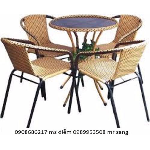 bàn ghế cafe mây nhựa giá giá rẻ nhất - 10544260 , 8293879 , 15_8293879 , 1150000 , ban-ghe-cafe-may-nhua-gia-gia-re-nhat-15_8293879 , sendo.vn , bàn ghế cafe mây nhựa giá giá rẻ nhất