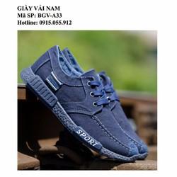 Giày Sneaker Nam - Thời trang - Mẫu mới