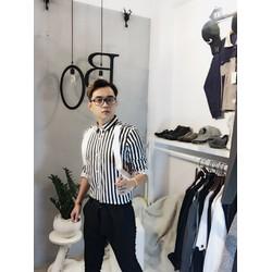 Áo sơ mi nam style Hàn Quốc