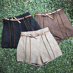 quần short dạ viền - size s m l