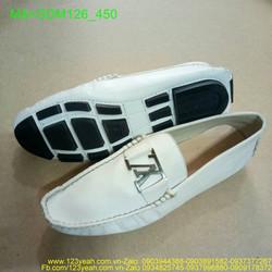 Giày mọi nam da lộn kiểu khóa ngang sang chuẩn GDM126