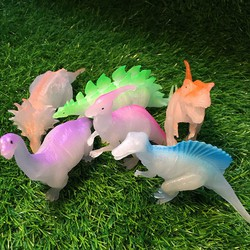 Bộ 06 khủng long dạ quang phát sáng ban đêm