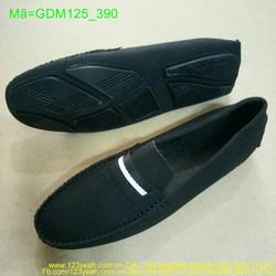 Giày mọi nam viền ngang trắng đơn giản thanh lịch GDN125