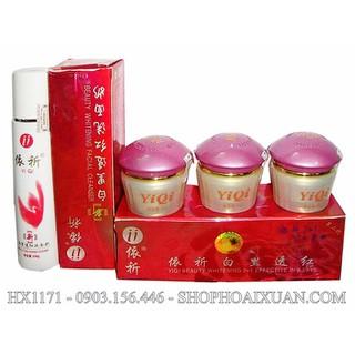 Bộ kem dưỡng da làm mờ nám và Tàn Nhang YIQI TAIWAN - kem yiqi - HX1171 - HX1171 thumbnail