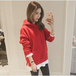 Áo hoodie tay trắng hàng Quảng Châu