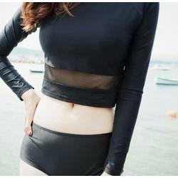 set bikini tay dài hot trend korea