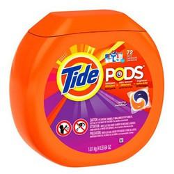 Viên giặt xã Tide Pods Spring Meadow thùng 72 viên