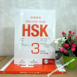 Giáo trình chuẩn HSK 3 Bài tập - Kèm CD