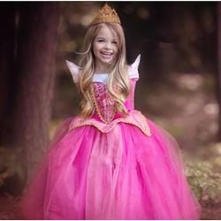 Đầm công chúa Ngủ trong rừng Arora tuyệt đẹp