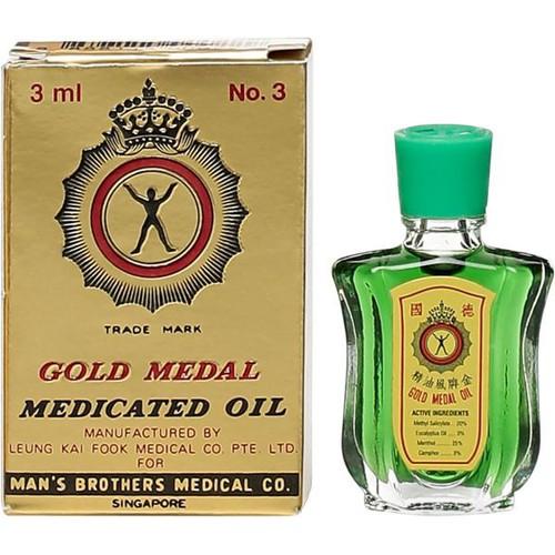 Dầu xanh gold medal 3ml
