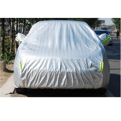 Bạt, Tấm, áo trùm che phủ xe hơi, xe ô tô phủ nhôm bạc 2 lớp