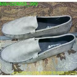 Giày mọi nam da lộn thiết kế đơn giản phong cách GDM93