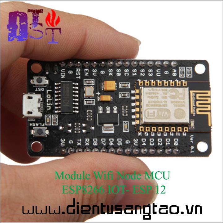 Module Wifi Node MCU ESP8266 IOT- ESP 12 4