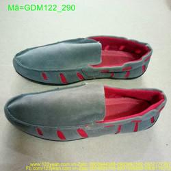 Giầy mọi nam viền đỏ đơn giản phong cách GDM122