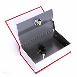 Két Sắt Mini Quyển Sách Độc Đáo Kích thước 18x12x6 cm