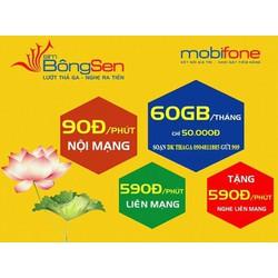 SIM 4G MOBIFONE 60GB GIA HẠN 50K THÁNG