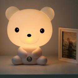 Đèn ngủ chú gấu V.2 Màu Trắng cung cấp bởi WinWinShop88