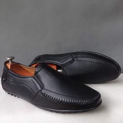 Giày mọi nam thiết kế mới màu đen tuyền giá bán tốt hơn
