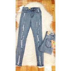 Quần Jeans Nữ Rách