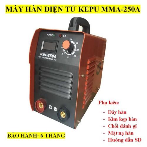 Máy hàn KEPU MMA250  kèm phụ kiện hàn que đến 3.2mm - 10534054 , 8192623 , 15_8192623 , 1850000 , May-han-KEPU-MMA250-kem-phu-kien-han-que-den-3.2mm-15_8192623 , sendo.vn , Máy hàn KEPU MMA250  kèm phụ kiện hàn que đến 3.2mm